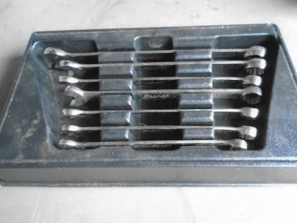 Photo snap on metric wrench set - $130 (Binghamton)