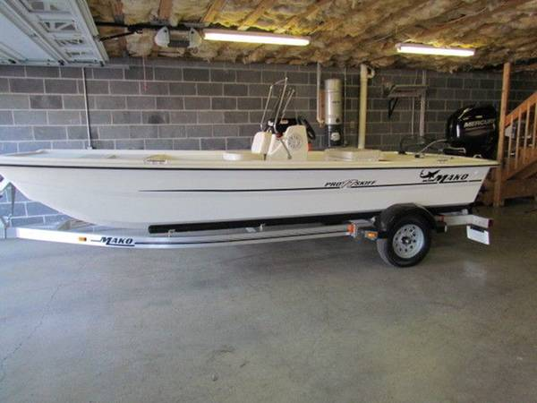 Photo 2013 MAKO PRO SKIFF 17 CC 60HP 4-STROKE682-724 - $8,300 (Greensboro)