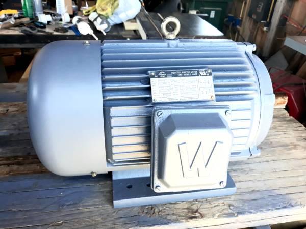 Photo 26-Ea 3-Phase 10-Hp motors for Sale - $100 (Bradshaw, Wv)
