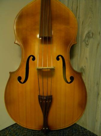 Photo For Sale Used Engelhardt Upright Bass Model M1 - $1,275 (Martinsville, VA)