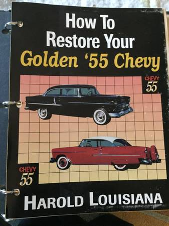 Photo How to Restore your 55-56-57 Chevy BooksManualsMagazines - $75 (Clemmons)