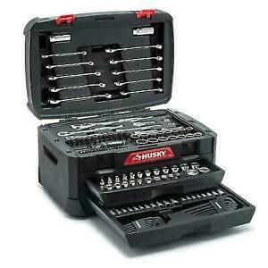 Photo Husky 230pc Mechanics Tool Set - $80 (Blacksburg)