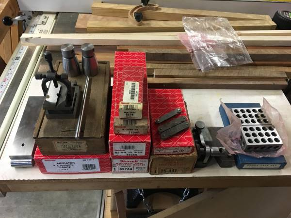 Photo Machinist Tools and Gauges - $500 (Riner)