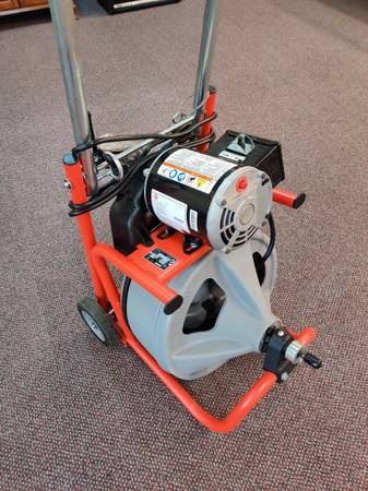Photo Ridgid K-400-T2 7539 Electric Drain Snake - $360 (Salem)