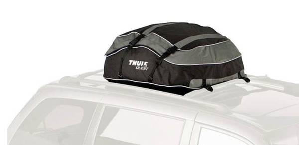 Photo Thule Quest car roof rack travel storage cargo bag carrier - $30 (Blacksburg)