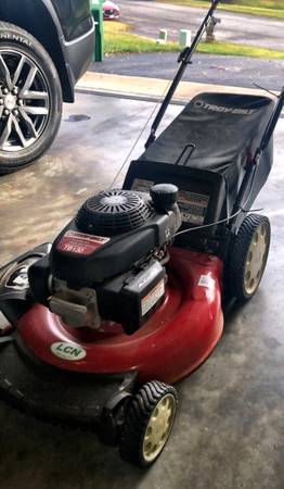 Photo Troy Bilt 21 Gas Push Power (used) in good condition - $60 (Christiansburg)