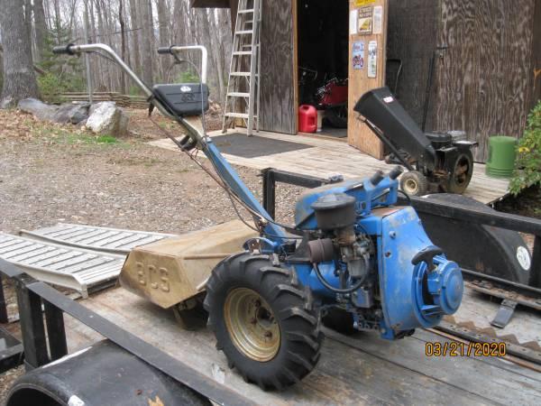 Photo Vintage 1970s BCS Tractor with Tiller  Mower - $1000 (Stuart)