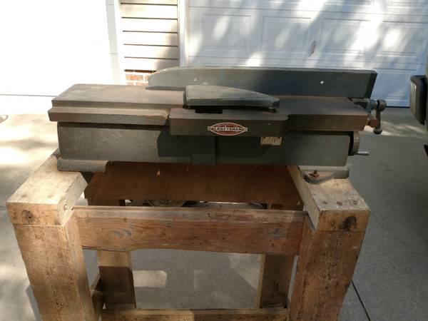 Photo Vintage Craftsman Jointer 4-38quot - $100 (Mebane)