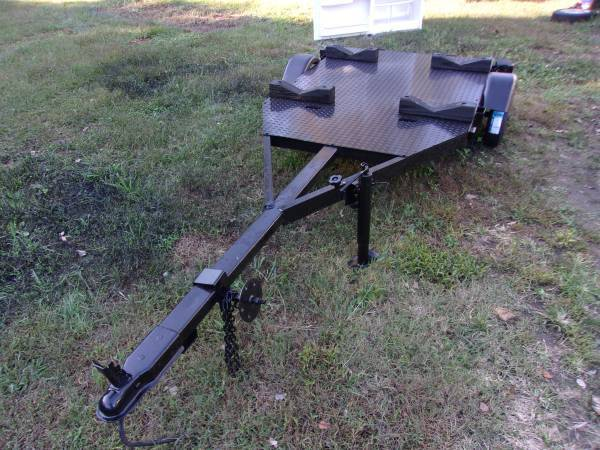 Photo kayak peddle boat canoe jon boat trailer - $475 (clemmonswinston salem)