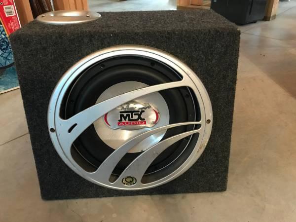 Photo 12 inch sub and box - $100 (Harrisburg)