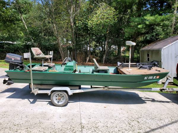 Photo 16 ft fisher boat wtrailor - $3,500 (clyde)