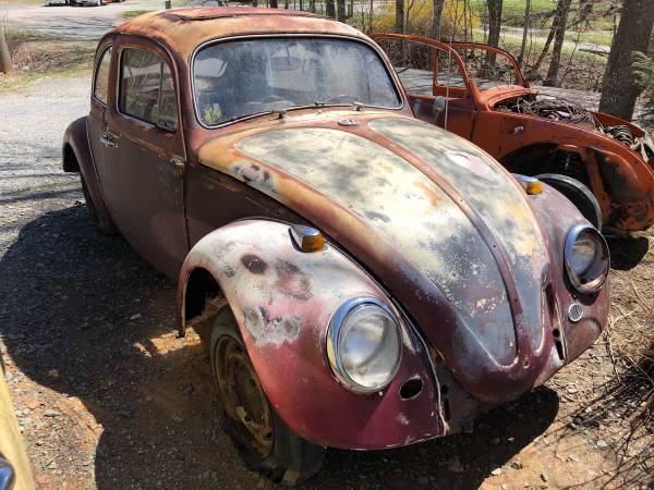 Photo 1964 Volkswagen Beetle Parts Car VW - $1 (Boone, Nc)