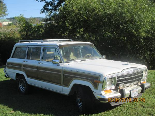 Photo 1988 JEEP grand wagoneer - $12750 (Boone,NC)