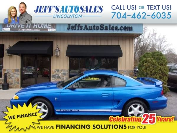 Photo 1998 Ford Mustang Coupe - Down Payments As Low As $500 (Down Payment)