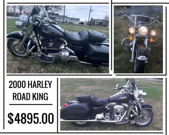 Photo 2000 HARLEY DAVIDSON ROAD KING - $4,895 (7507 DALLAS CHERRYVILLE HWY. CHERRYVILLE, NC)