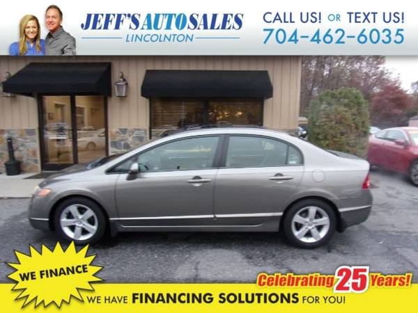 Photo 2006 Honda Civic EX Sedan AT - Down Payments As Low As $500 (Down Payment)