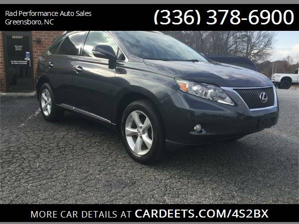 Photo 2010 LEXUS RX 350 - $15499 (Greensboro)