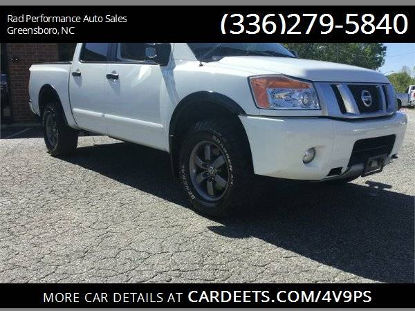 Photo 2014 NISSAN TITAN PRO-4X CREW CAB 4X4 - $20999 (Greensboro)