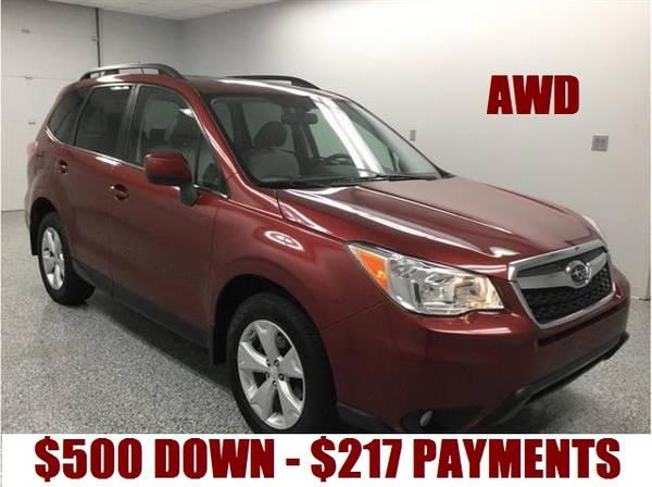 Photo 2015 SUBARU FORESTER LIMITED PZEV AWD w WARRANTY - $217 (BUY HERE PAY HERE FINANCE w CREDIT REPORTING)