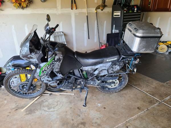 Photo 2018 Kawasaki KLR 650 Enduro Motorcycle - $5,000 (Clover)