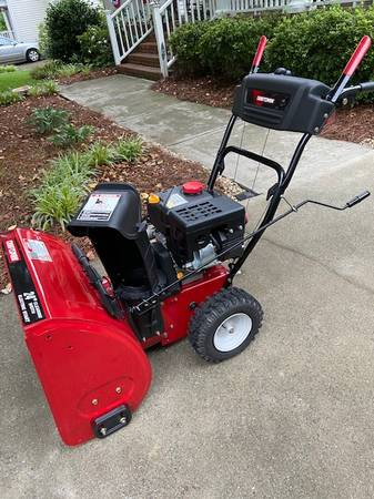 Photo 24quot Craftsman Snow Blower - $500 (Charlotte)
