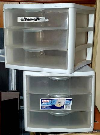 Photo BINS (4) $5 EACH FOR STORAGE Jewelry, Diecast Cars, Hot Wheels,ECT - $5 (Belmont)