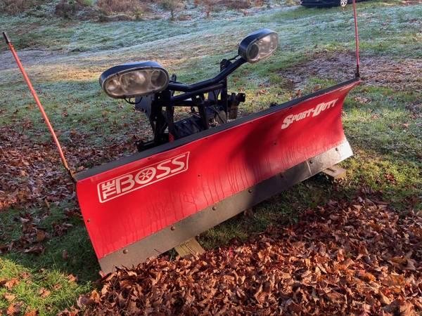 Photo Boss Sport Duty 739 Snow Plow - $1,800 (Banner ELK)