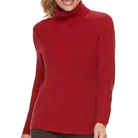 Photo CROFT  BARROW Women39s XL(18) TURTLENECK Long Sleeve  New with Tags - $6 (WaynesvilleClydeCanton)