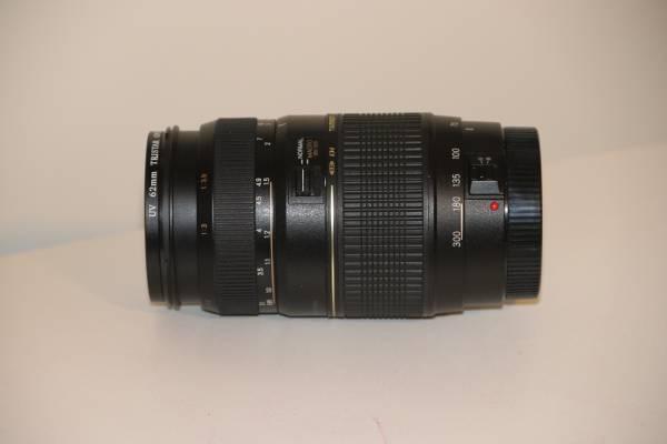 Photo Canon EOS Mount Tamron 70-300 Macro Lens - $125 (Flat Rock)
