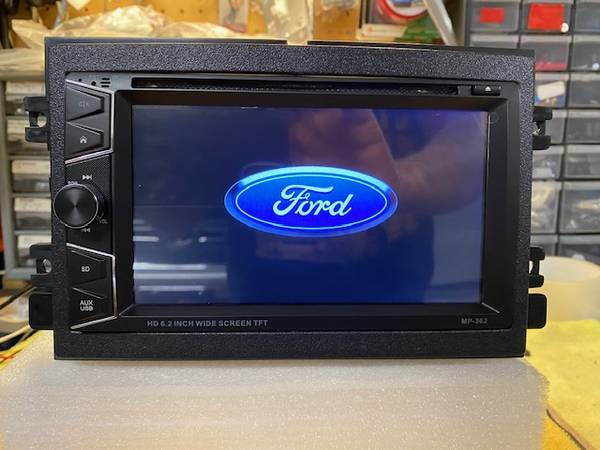Photo Car Stereo (NEW) fits Ford wGPS Navigation HANDS FREE TALKING - $325 (Johnson City)