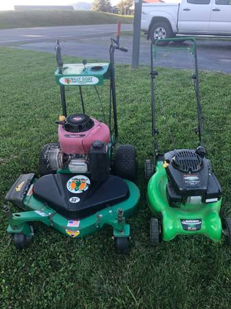 Photo Commercial Billy Goat Mower - $1,050 (Boone)