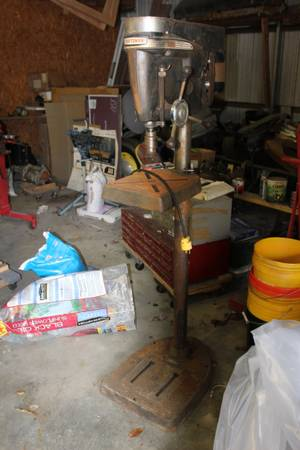 Photo Craftsman floor model drill press - $300 (Iron Station)