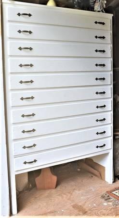 Photo Custom Art Cabinet - $500 (TROUTMAN, N.C.)