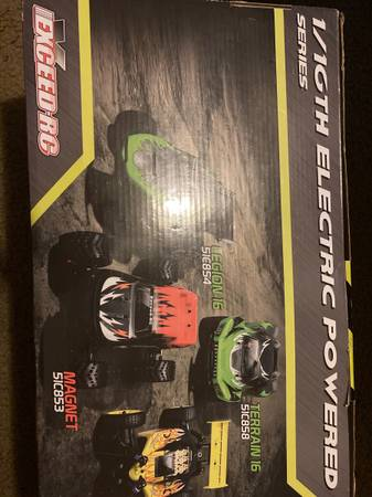 Photo Exceed RC Buggy Radio Car 116 2.4Ghz Blaze EP Electric Powered RTR Off Road Bug - $70 (Gastonia)
