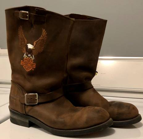 Photo Harley Davidson Mens Boots - $125 (Boone)