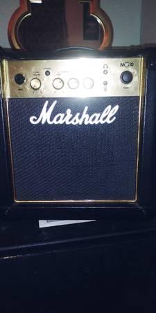 Photo Marshall Amp (Like New) - $100 (Sparta, North Carolina)