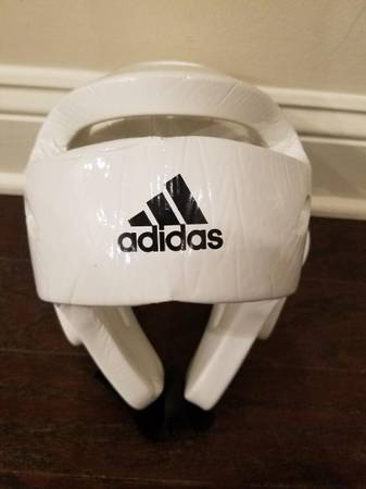 Photo Martial Arts Head Protection Adidas White NEW - $35 (South Charlotte)