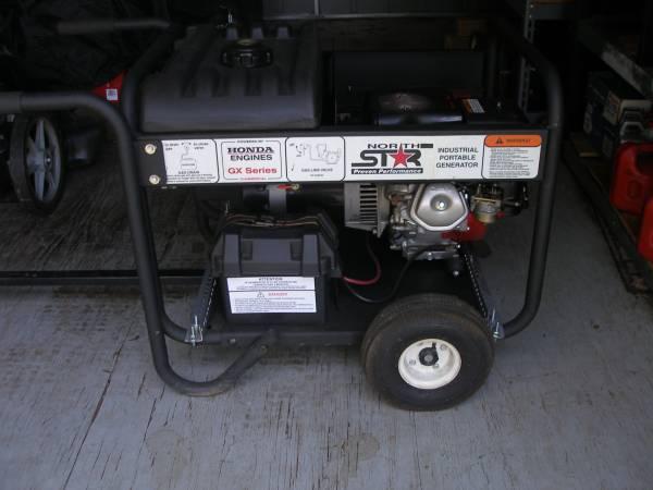 Photo NORTH STAR Model 5500 Generator - $500 (Belews Creek)