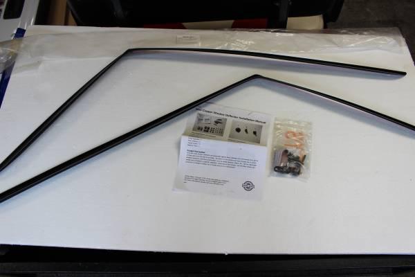 Photo New 2007-2013 Mini Cooper Side Window Vent Visor Rain Guard Deflectors - $40 (Weaverville)