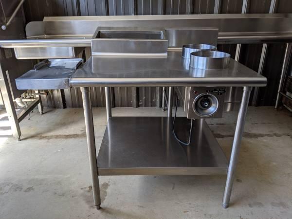 Photo Restaurant Stainless Steel 2 Well Bath Steam Plate Warming Prep Table - $250 (Sylva)