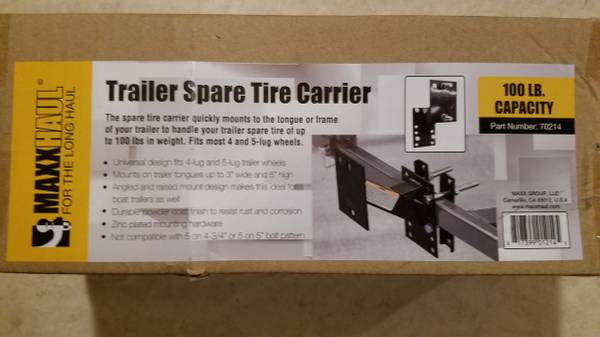 Photo Trailer Spare Tire Carrier - $15 (Price Firm)