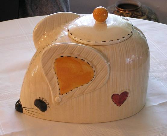 Photo Vintage Doranne of CA Cookie Jar - $25 (Vilas)