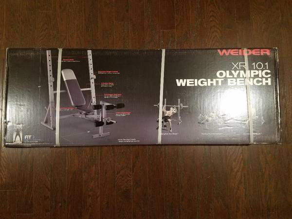 Photo Weight Lifting Bench Weider 10.1 Olympic Weight Bench NEW - $190 (South Charlotte)