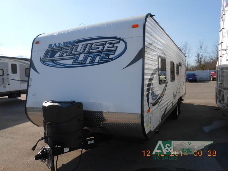 Photo Used 2014 Forest River Rv Travel Trailer RV  $16900