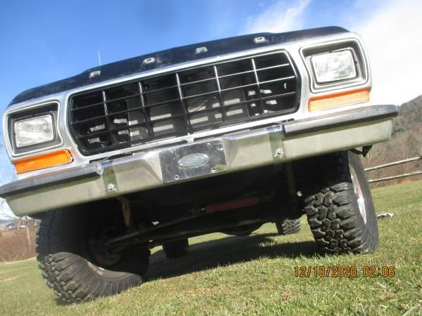 Photo ford 1979 f150 4x4 - $11,995 (Boone,NC)