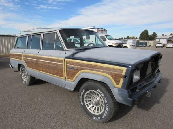 Photo 1988 Jeep Grand Wagoneer 4x4 Project - $3,500 (Bozeman, Montana)