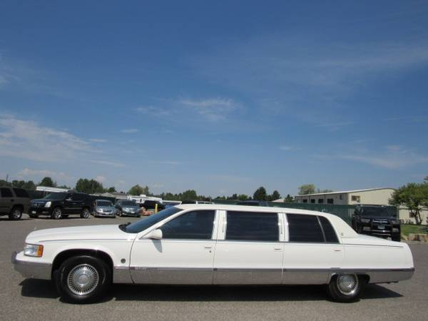 Photo 1996 Cadillac Fleetwood Brougham Commercial Chassis 6-Door Car - $7900 (Bozeman WWW.PEAKCARS.COM)