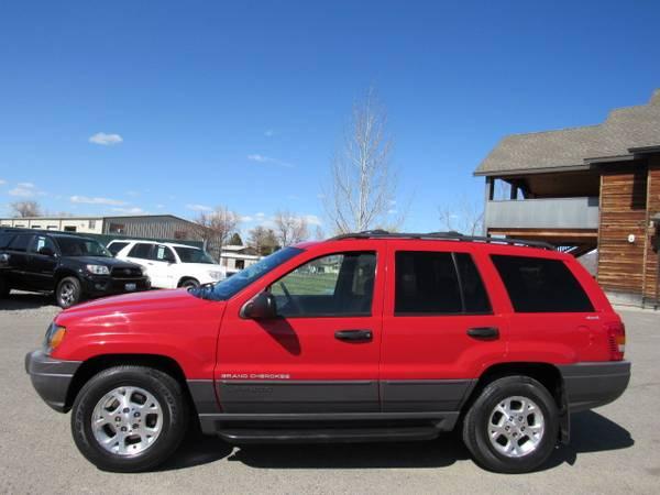 Photo 1999 Jeep Grand Cherokee Laredo 4x4 89,000 Miles - $6900 (Bozeman WWW.PEAKCARS.COM)