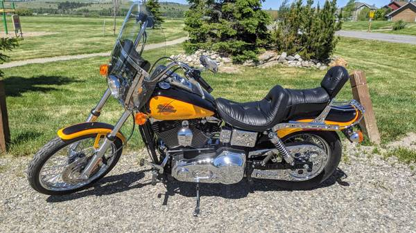 Photo 2000 Harley Davidson Wide Glide - LOW MILES - $7,900 (Bozeman)