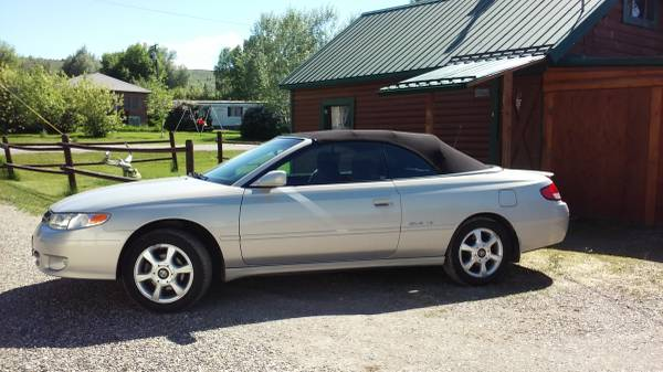 Photo 2001 Toyota Camry Solara SLE Convertible - $5500 (Reed Point)
